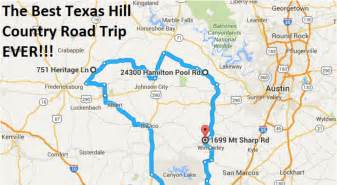 the ultimate hill country road trip
