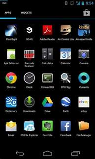 app drawer on stock android not alphabetized android