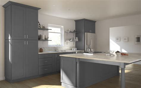 Grey Shaker Kitchen Cabinets by Grey Shaker Ready To Assemble Kitchen Cabinets Kitchen