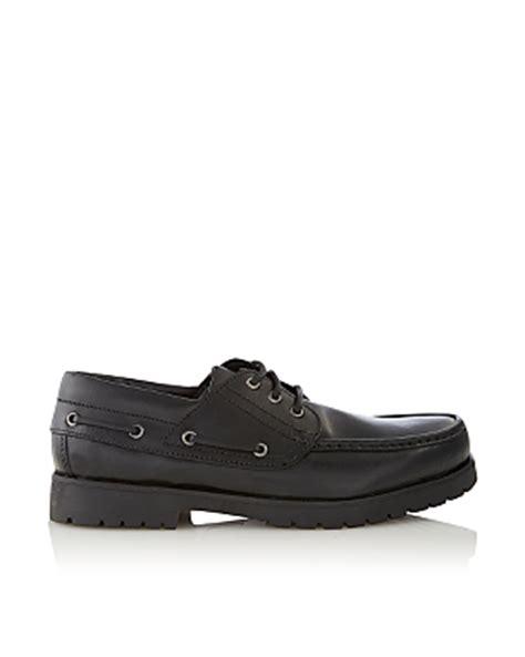 asda school shoes boys school leather boat shoes school george at asda