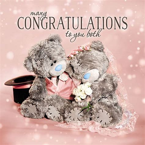 Wedding Wishes Congratulations To Both Of You by 17 Best Images About Me To You Wedding Bears Cards On