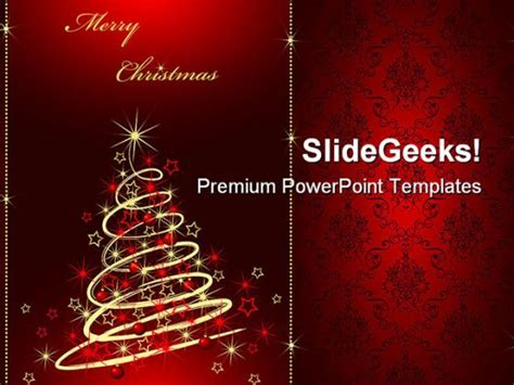 merry powerpoint template merry christmas01 festival powerpoint backgrounds and