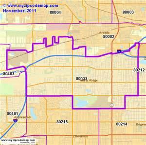 wheat ridge colorado map zip code map of 80033 demographic profile residential