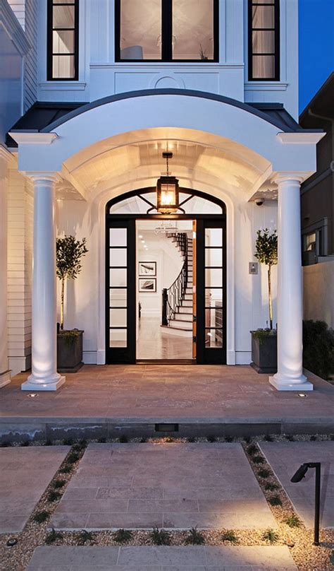 house entrance designs 17 best ideas about portico entry on front