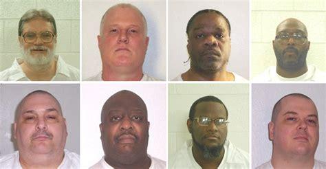 arkansas execution arkansas plans to execute 8 inmates in 4 days starting