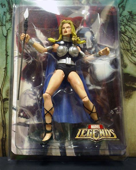 valkyrie marvel legends custom by mc comics on deviantart