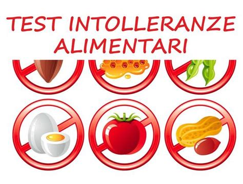 elenco alimenti senza istamina test intolleranze alimentari prenota subito presso centro