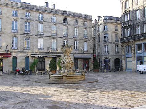A Place Is About Place Du Parlement Bordeaux Wikip 233 Dia