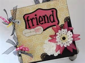 Friends Photo Album Friend Scrapbook Mini Album Wonderful Gift