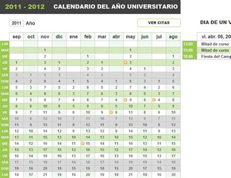 excel insertar un calendario editable calendario juliano