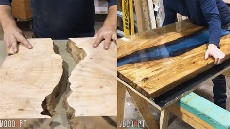 awesome making epoxy resin  wood woodworking