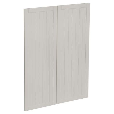 kaboodle mm cremasala country medium pantry doors  pack
