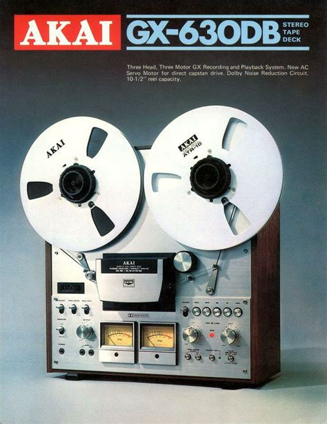 Toa Stereo Seetronik Akai 1 4 Inch 6 5mm 17 best images about high end audio 70 s 80 s on decks vintage and magazine ads