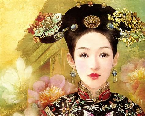traditional chinese hair hair ancient chinese fashion