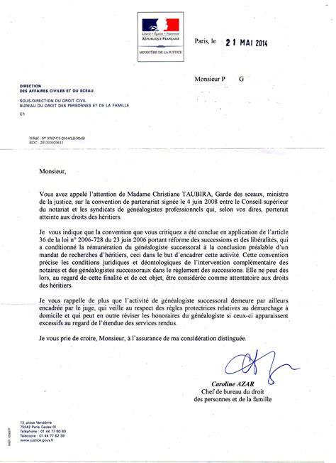 Lettre De Recommandation Justice Contrat De Revelation De Succession Quand Comment Et A Qui Recourir 3 3 2 Le Contrat De