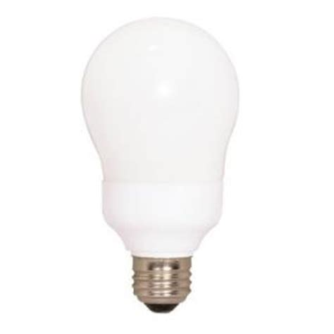 e26 medium base type a compact fluorescent light bulb 6