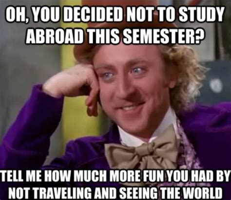 Studying Abroad Meme - broad uwplatteduabroad your monday meme from