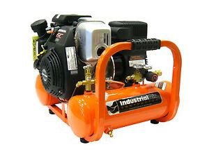 industrial air contractor 4 gal 155 psi pontoon air compressor powered by honda ebay
