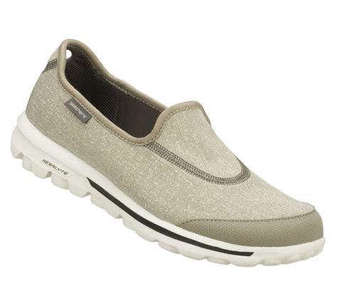 13510 gray grey skechers shoes go walk sport slip on
