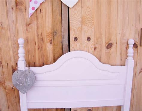 chalk paint mueble lacado cabecero de cama de madera de pino lacado en color rosa