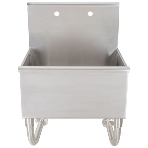 Service Sinks by Advance Tabco Wss 16 25 Wall Mounted Utility Sink 22 Quot X