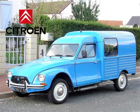 Citroen Acadiane by Citroen Acadiane Technical Specifications And Fuel Economy