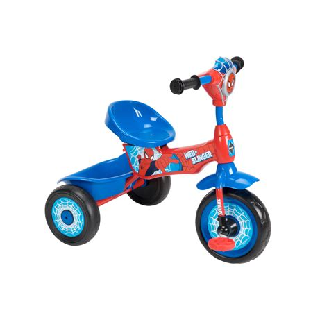 lights and sounds trike disney lights sounds ultimate spider man tricycle shop