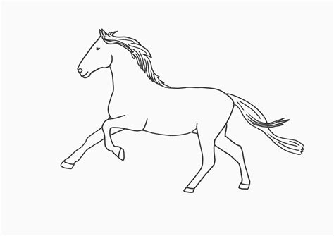 coloring pages of horses running free coloring pages of running horses