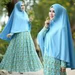 Affiyah Syari gamis cantik murah b105 afifah syar i model baju muslim