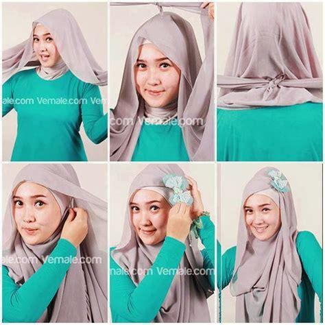 tutorial hijab zaskia tutorial jilbab zaskia mecca hijab