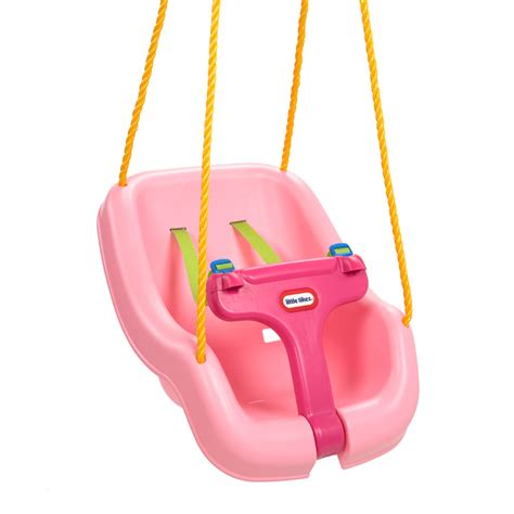 little tikes outside swing little tikes snug n secure 2 in 1 swing pink toys quot r quot us