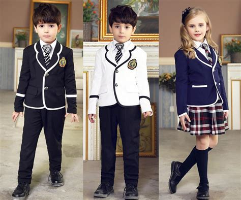 Hk Hayati Set britannique 233 cole maternelle uniformes pour gar 231 on fille