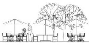 arredi da giardino dwg ombrelloni 2d disegni dwg