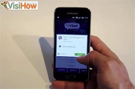 viber for android phone install viber on an android phone visihow