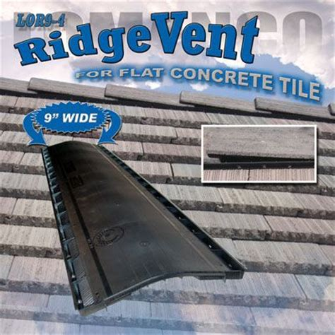 lomanco roof to wall vent lomanco vents lor9 4 on flat tile roof