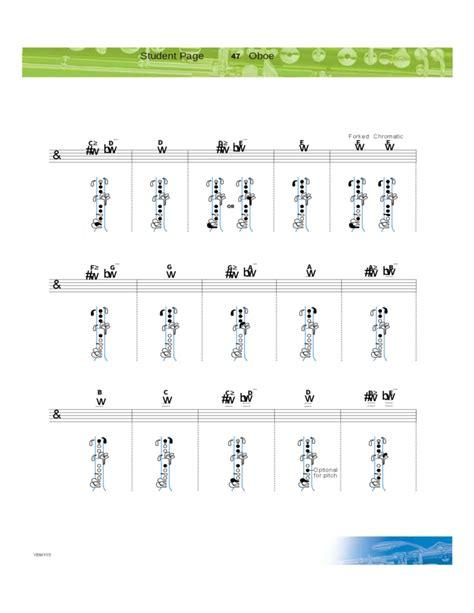 oboe diagram oboe fingerings related keywords oboe fingerings