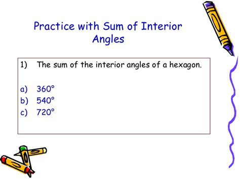 Sum Of Interior Angles Of A Nonagon by Polygons By Leinard