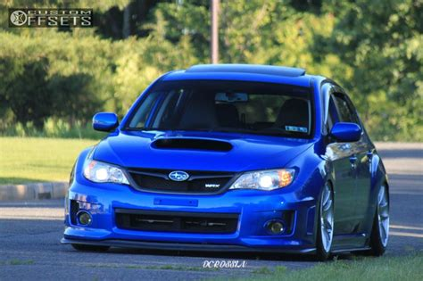 2013 subaru wrx custom 2013 subaru wrx esr sr08 air lift performance bagged