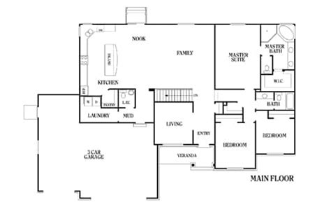 Linden Floor Plan by Linden Perry Homes