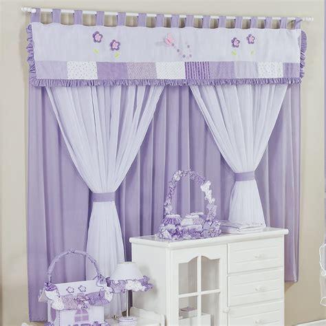 confira dicas de cortinas para quarto de beb 234 menina