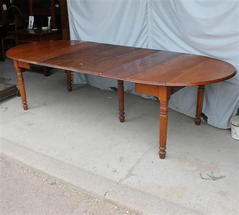Bargain John's Antiques   Antique Drop leaf Kitchen Table