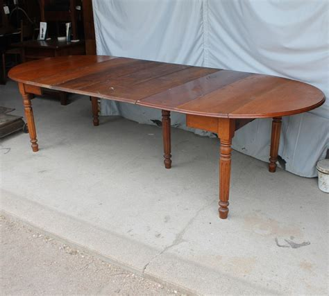 Bargain John's Antiques   Antique Drop leaf Kitchen Table
