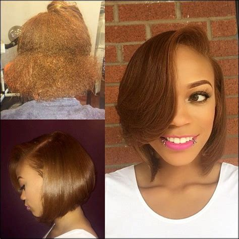 short pressed hairstyles short silk press hairstyles best short hair styles