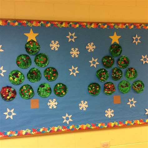 paper christmas tree bulletin board 65 best images about bulletin boards on post office shape and corn cob