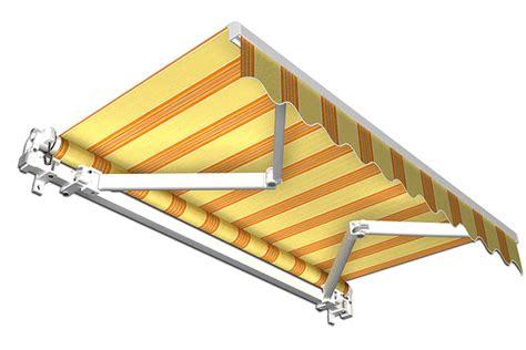 jalousie gelb stabile aluminium markise alu gelenkarmmarkise
