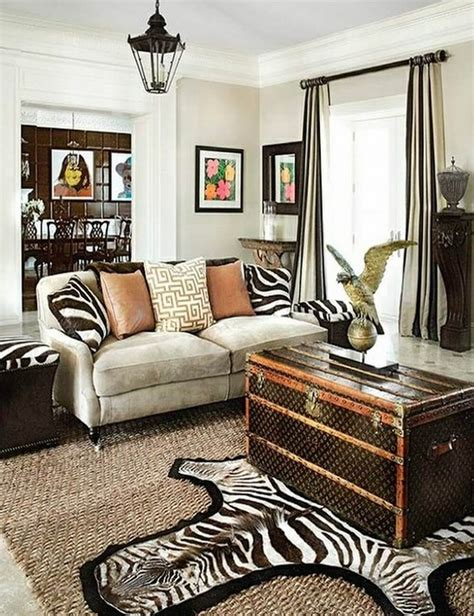 zebra living room 10 fierce interior design ideas with zebra print accent