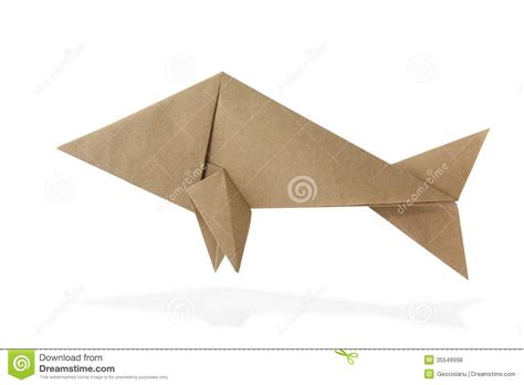 Paper Origami Fish - origami fish royalty free stock photos image 35549998