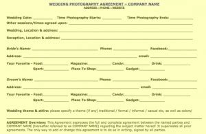 %name Florist Wedding Contract Template   DJ Contract   12  Download Documents in PDF