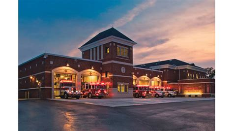 fire house design growing economy means new fire stations will be built firehouse