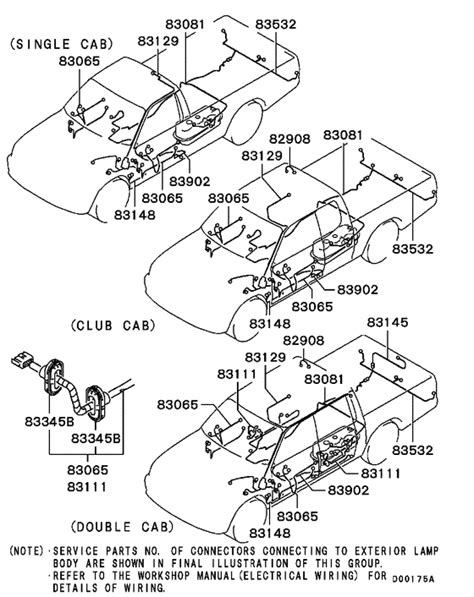 100 mitsubishi l200 ignition wiring diagram